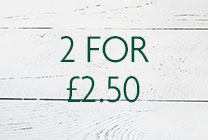 2 FOR £2.50
