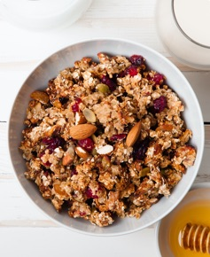 Muesli Granola and Crisp