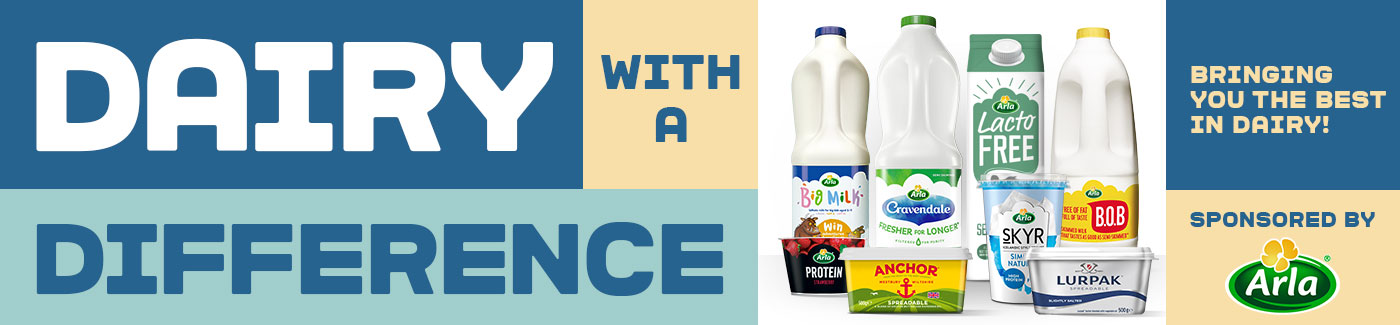 Arla bringing you the best in dairy