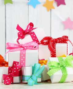 Gifts Cards and Wrap