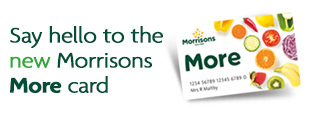 Say hello to the new Morrisons More card