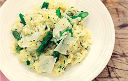 Asparagus and Herb Risotto