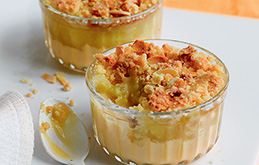 Pictures Of Apple Crumble And Custard
