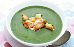 Watercress and Spinach Soup - For Farmers