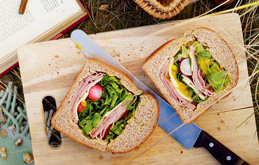 Ham and Piccalilli Picnic Loaf - For Farmers