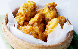 Crunchy Cauliflower Cheese Bites
