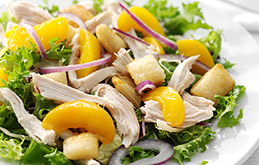 Chicken and Peach Salad