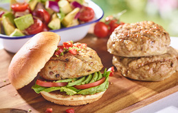 Chicken and Avocado Burgers