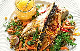 Grilled Mackerel Salad