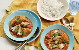 Caribbean Fish Curry