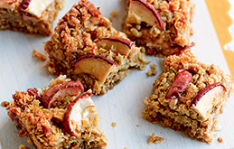 Apple Flapjack Bites