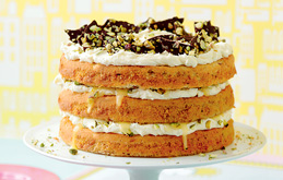 Pistachio and Lime Cake