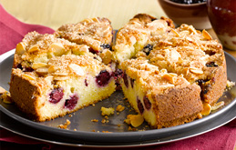 Blackberry Bakewell Cake