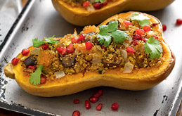 Jewelled Stuffed Butternut Squash