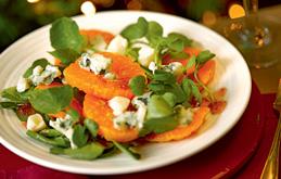 Clementine and Blue Cheese Salad