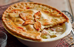 Chicken and Ham Pie - For Farmers