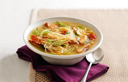 Chicken, Noodle and Chilli Soup