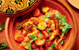 Chicken, Carrot and Apricot Tagine