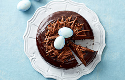 Rich Chocolate Easter Cake