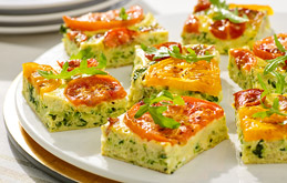 Tomato and Courgette Frittata