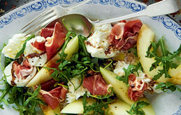 Melon and Parma Ham Salad