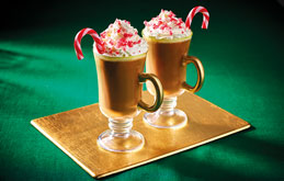 Hot Chocolate with a Peppermint Twist