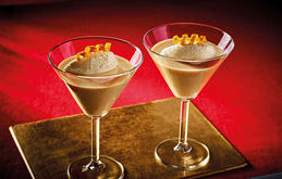 Baileys and Grand Marnier with Ice Cream