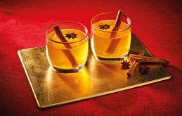 Mulled Craft Cider with Bourbon