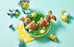 Easter Bread Bunnies