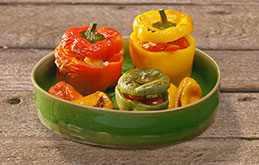 Wonky Roast Peppers