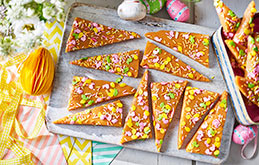 Easter Butter Toffee Bark