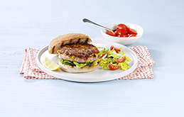 Tuna and Sweetcorn Burgers