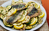 Butterfly Sardines with Lemony Fennel Salad