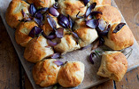 Red Onion and Rosemary Tear-and-Share Bread