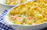 Fish Pie with Buttery Mash