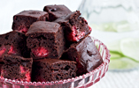 Raspberry and Chocolate Brownies