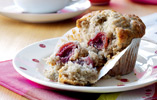 Banana and Cherry Muffins