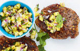 Jerk Pork Chops with Pineapple Salsa