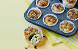 Stilton and Broccoli Muffins