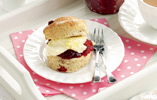 Banana Berry Scone