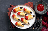 Severed Finger Sausage Rolls