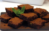 Gluten Free Chocolate and Pistachio Brownies