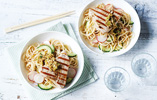 Seared Tuna with Noodle Salad