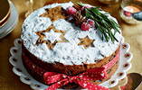 Easy Five Ingredient Christmas Cake