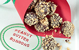 Crunchy Peanut, Toffee and Chocolate Bonbons