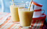 Banana, Coconut and Mango Smoothie