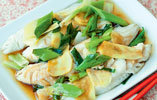 Fish with Ginger and Spring Onion