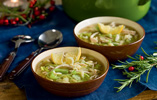 Chicken, Lemon and Orzo Pasta Soup