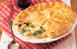 Creamy Chicken and Broccoli Pie