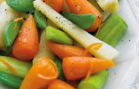 Medley of Vegetables with Citrus Butter